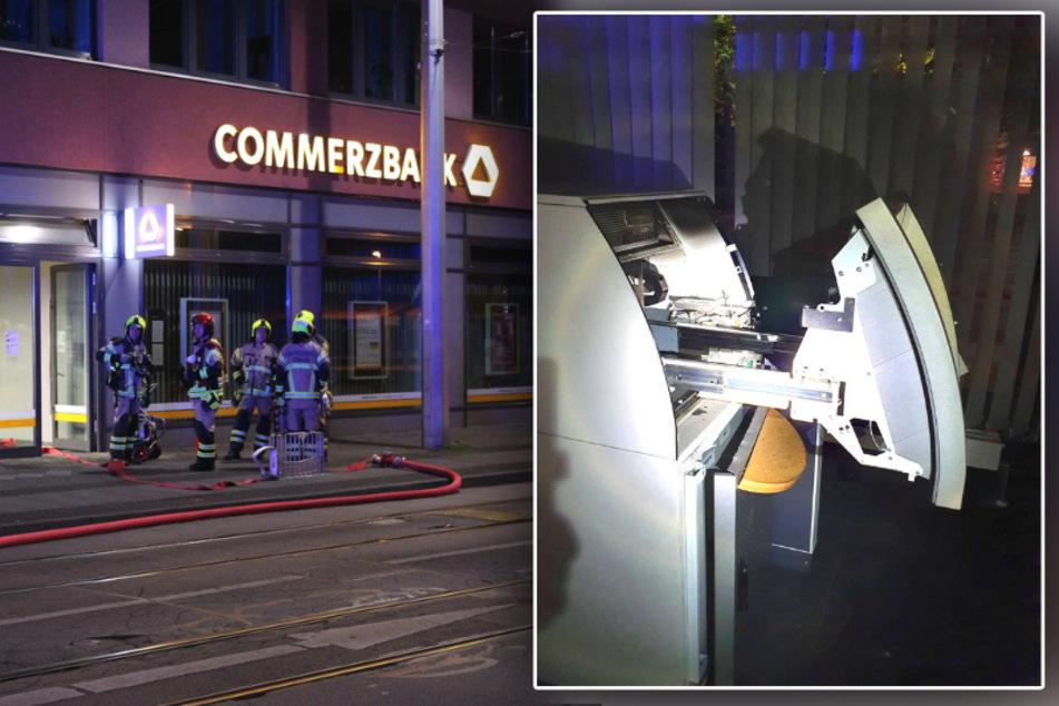 Nordhausen: Unbekannte jagen Geldautomaten in die Luft!