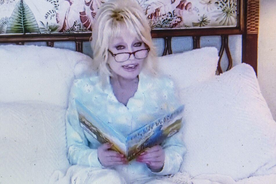 Dolly Parton's Goodnight With Dolly series featured the icon reciting bedtime stories in her Pjs.
