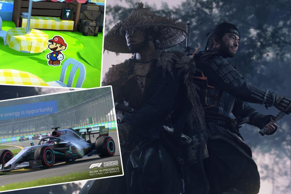 """""""Ghost of Tsushima"""", """"Paper Mario"""" und Co.: Diese Spiele erwarten euch im Juli"""