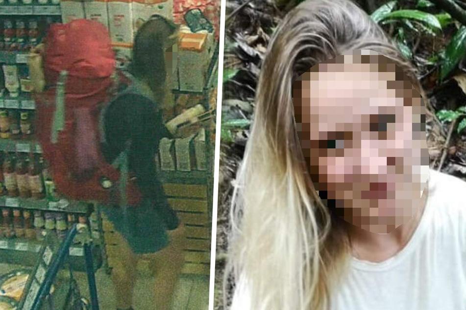 Scarlett S. wurde am Tag ihres Verschwindens in einem Supermarkt aufgenommen.
