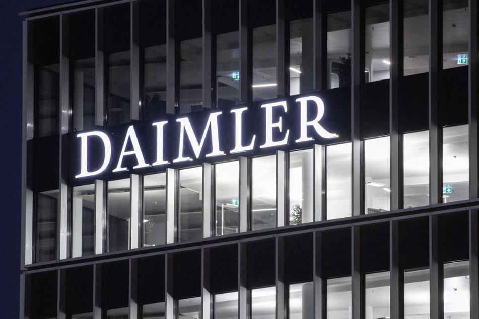 Blick auf die Daimler-Zentrale in Stuttgart. (Archiv)