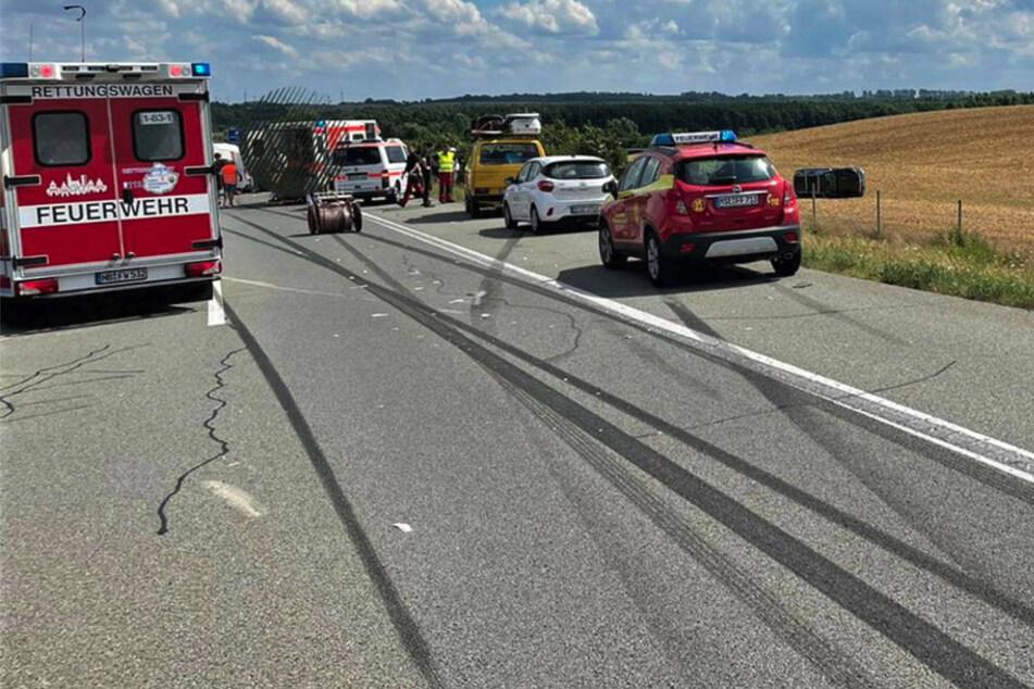 Am Dienstagmittag sind bei einem Verkehrsunfall auf der Autobahn 20 bei Neubrandenburg drei Menschen schwer verletzt worden.