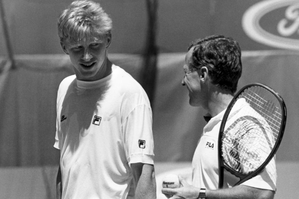Boris Becker: Boris Becker trauert: Sein Wimbledon-Coach Bob Brett ist tot!