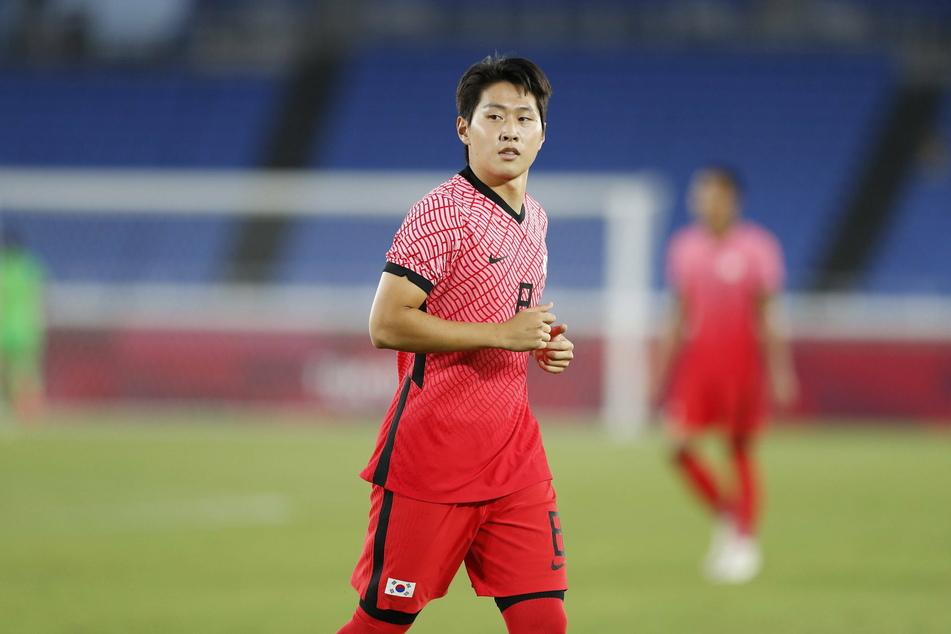 Kang-in Lee (20) war bis Sonntag mit Südkorea bei Olympia vertreten, erzielte in vier Spielen drei Tore.