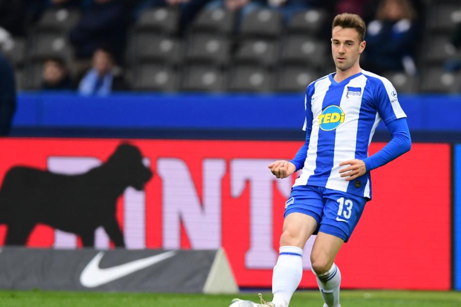 Lukas Klünter bestritt in dieser Saison 23 Spiele für Hertha BSC.