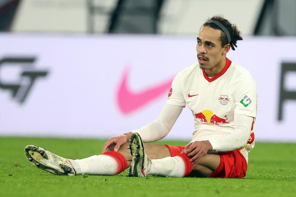 Yussuf Poulsen (26) musste beim Spiel gegen den FC Bayern München bereits nach 15 Minuten wieder ausgewechselt werden.