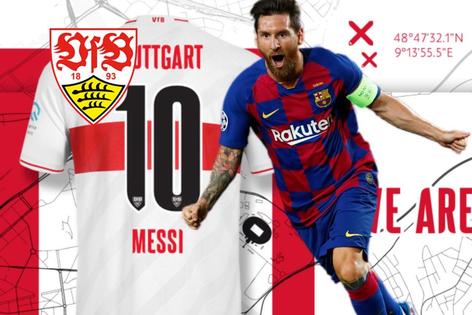 VfB Stuttgart hält nach Spendenaktion die Rückennummer 10 für Lionel Messi bereit