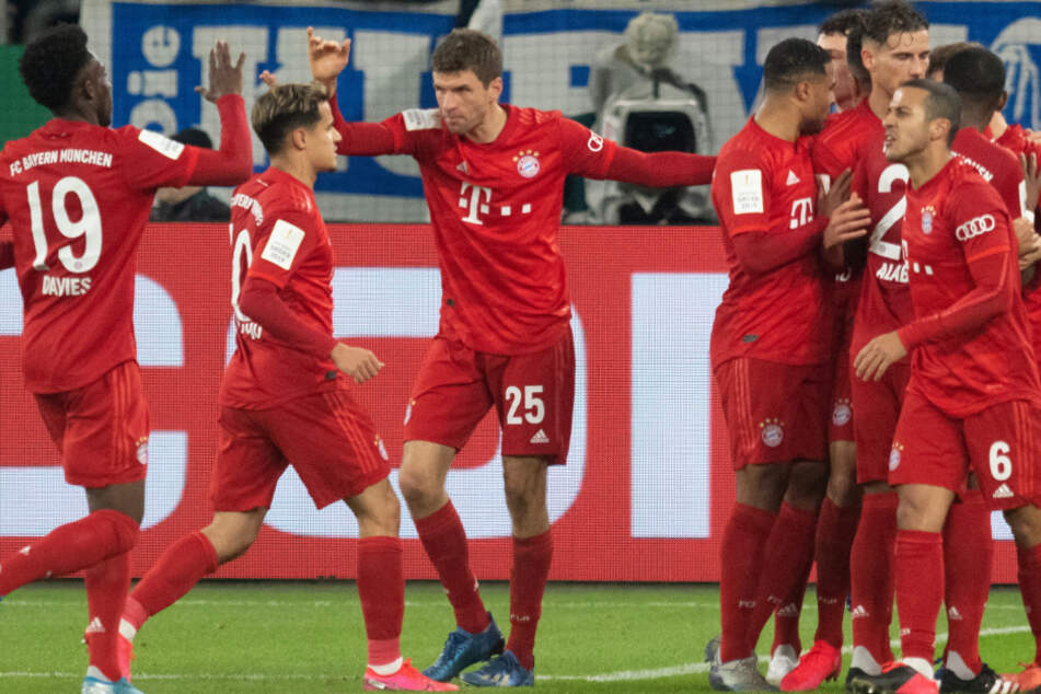 Der FC Bayern München konnte sich im DFB-Pokal gegen den FC Schalke 04 durchsetzen.