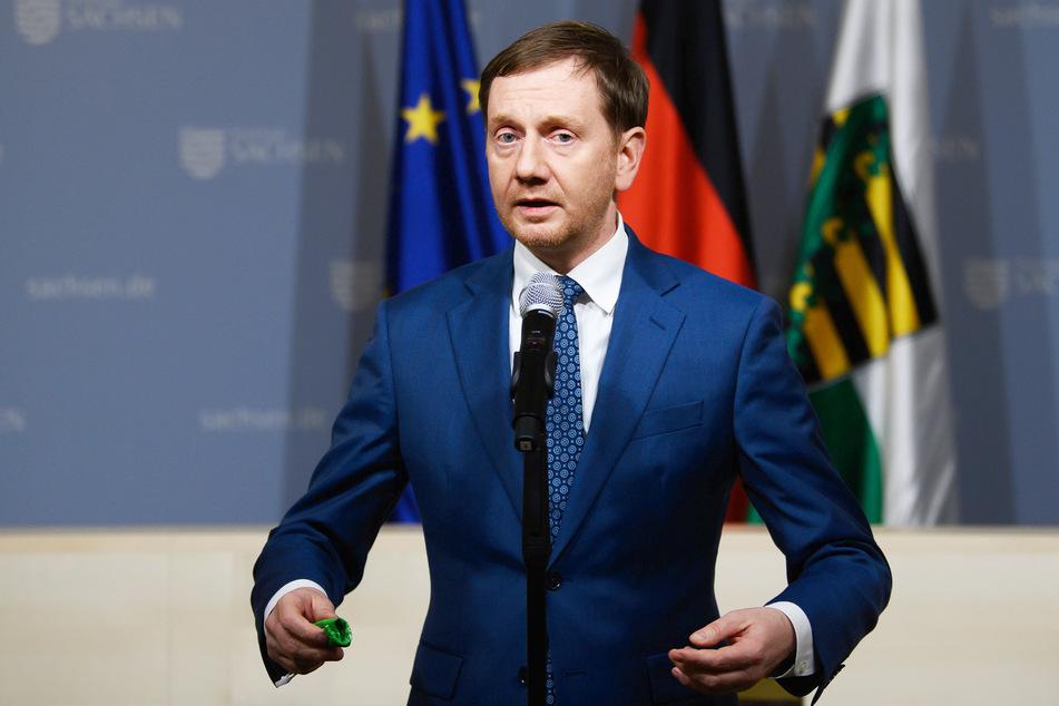 Sachsens Ministerpräsident Michael Kretschmer (45, CDU) kündigte keine deutlichen Verschärfungen des Corona-Lockdowns an.