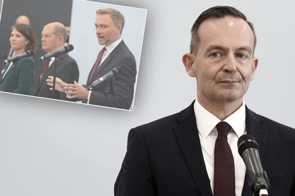 FDP-Wissing pro Ampel-Koalition: Kleine Backpfeife in Richtung Union
