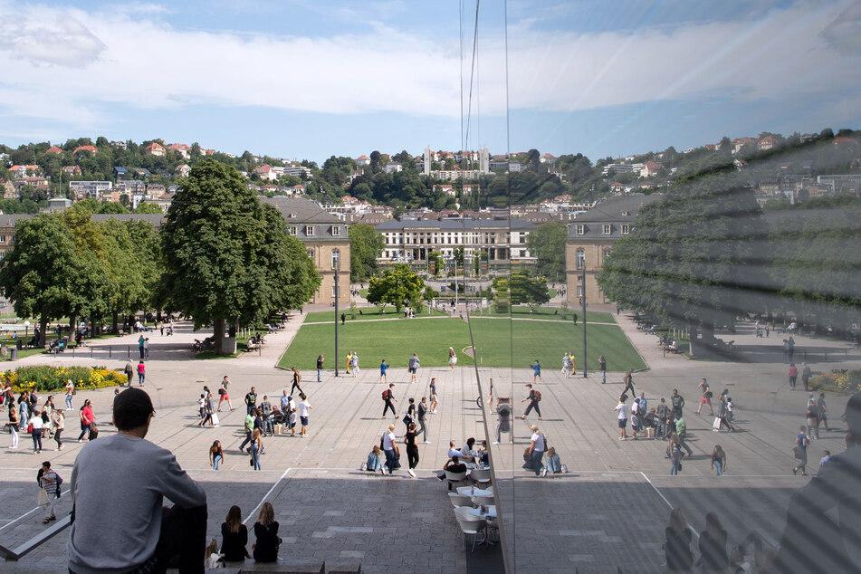 Auf dem Schlossplatz hätte im Mai das Trickfilmfestival stattfinden sollen. (Symbolbild)