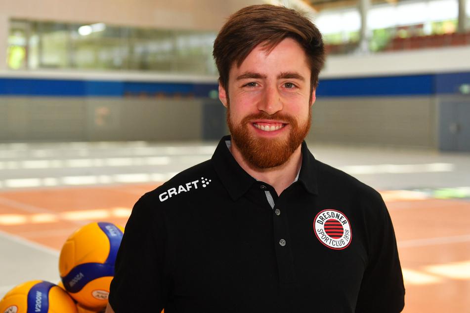 Max Filip (28) ist für die nächsten zwei Jahre als Scout und Co-Trainer beim DSC am Ball.