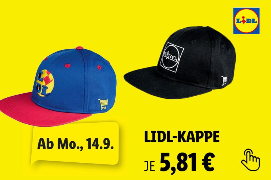 Damen Herren Lidl-Kappe