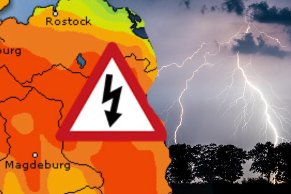 Unwetter im Norden! DWD warnt vor Starkregen und Gewitter
