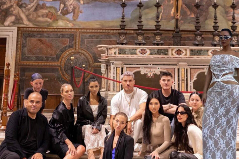 Kim Kardashian addresses the outrage over her Vatican outfit