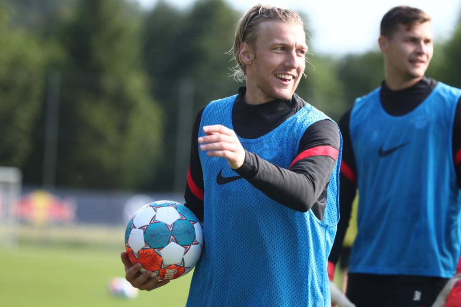 Emil Forsberg (29) erzielte beim heimlichen Test gegen Al-Hilal das 1:0-Siegtor. (Archivbild)