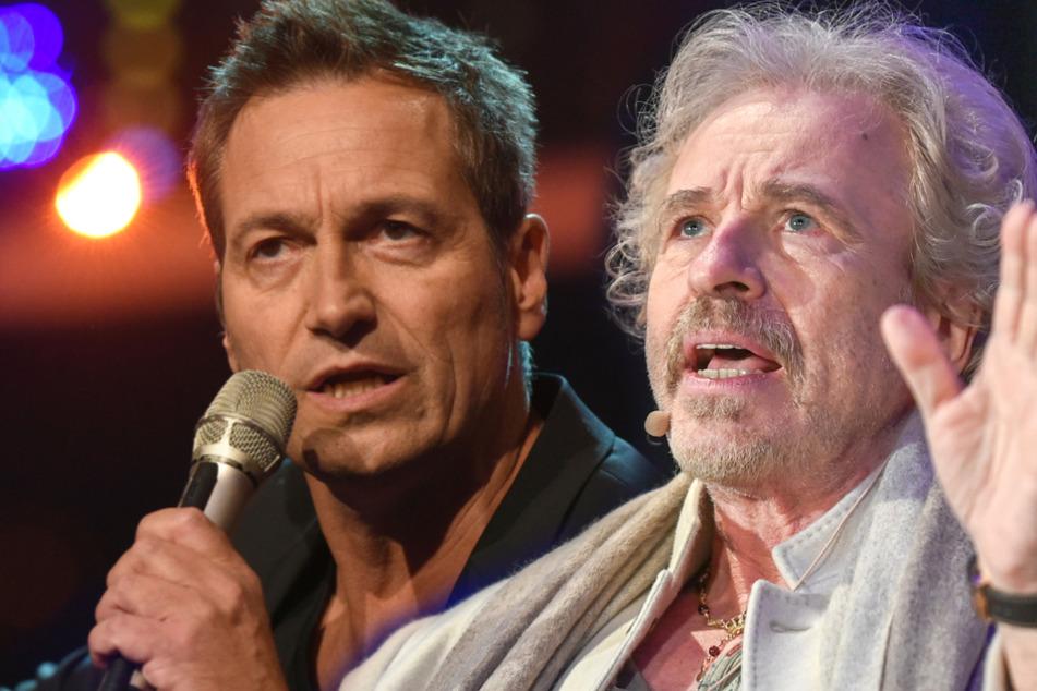 Mussten schon beide Shitstorms überstehen: Dieter Nuhr (60, links) und Thomas Gottschalk (70).