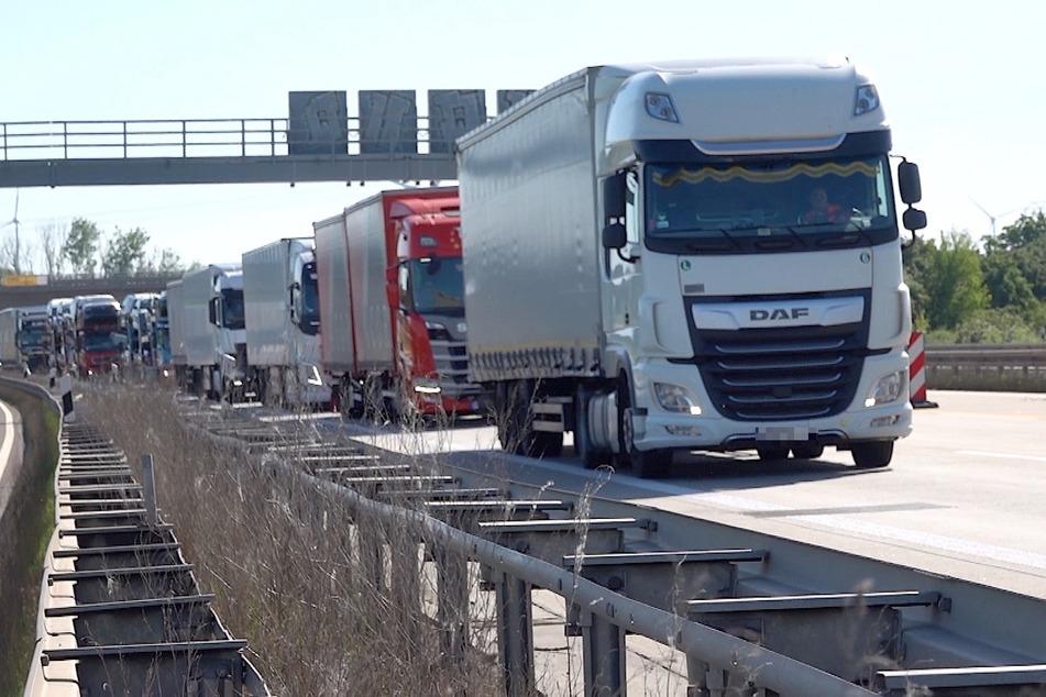 Auf der Autobahn A2 könnte es in den nächsten Monaten häufiger Staus geben.