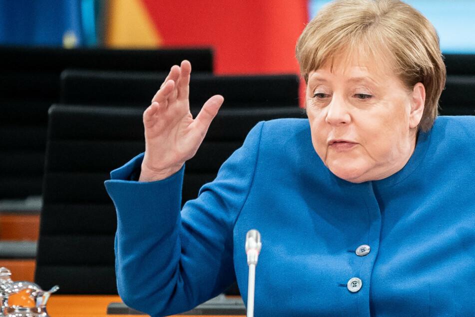 Erwischt! Einkaufen in der Corona-Krise: Was bei Angela Merkel im Einkaufswagen landet