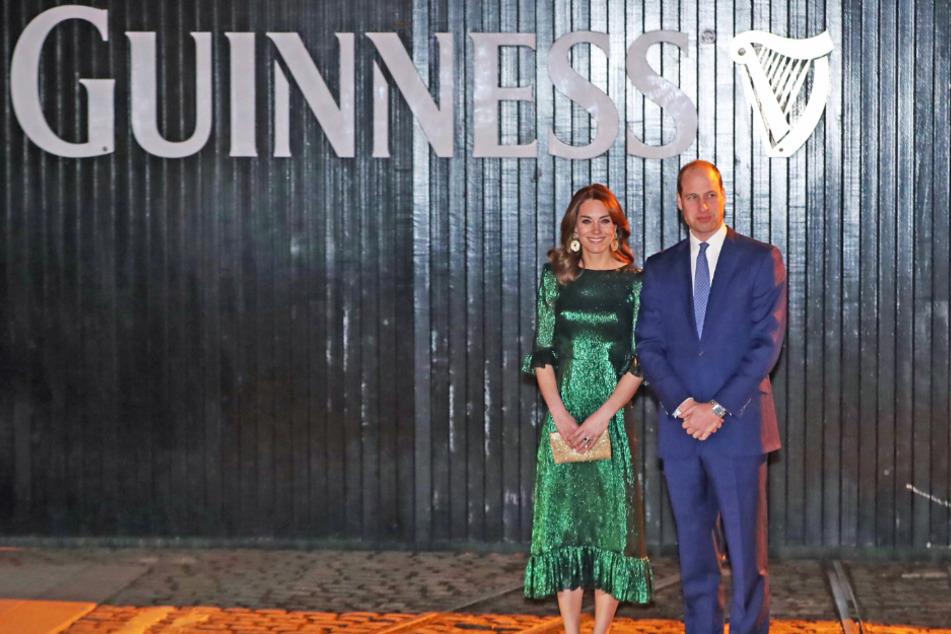 William und Kate besuchten während ihrer Irland-Tour auch die weltweit größte Guinness-Fabrik.