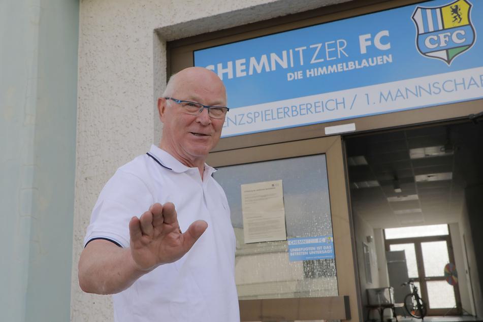 "Dr. Jörg-Uwe Fischer feiert am Donnerstag sein ""Comeback"" beim CFC."