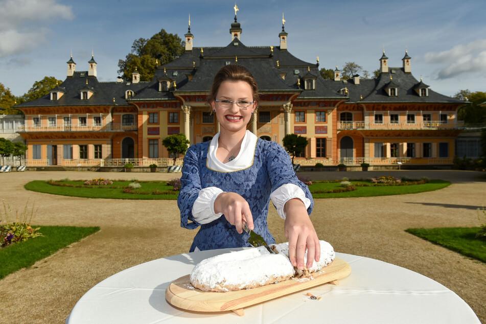 Dresden hat ein neues Stollenmädchen: Johanna Meitzner (21) ist nun für ein Jahr das Gesicht des Dresdner Christstollens.