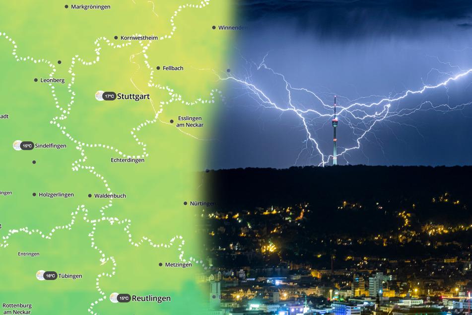 Vorsicht: Uns drohen Unwetter in Baden-Württemberg