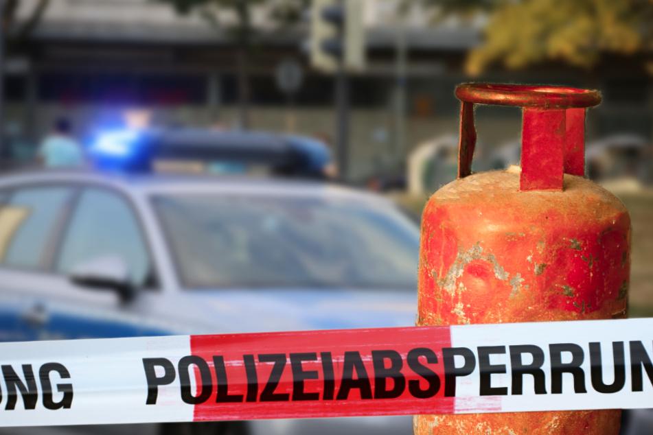 Laut Polizei ist derzeit noch unklar, wie genau es zur Explosion der Gasflasche kam. (Symbolbild)