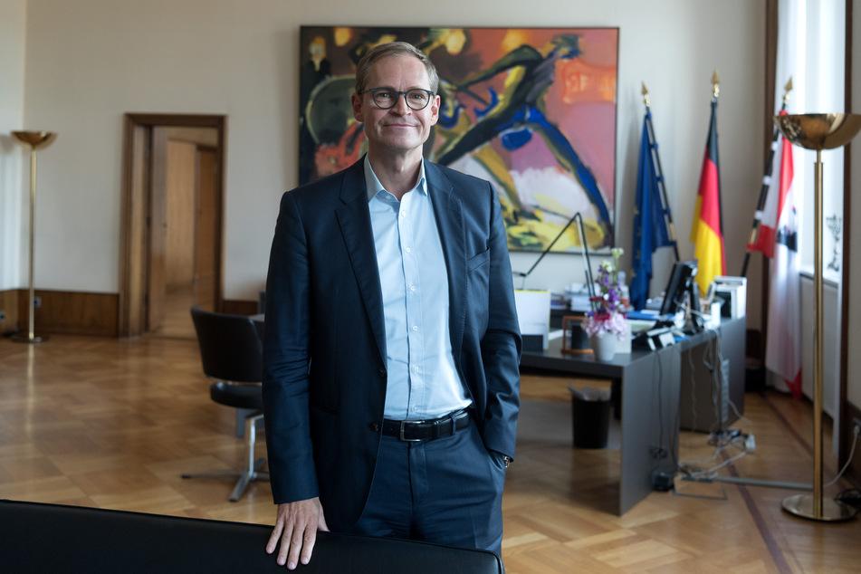 Berlins Regierender Bürgermeister Michael Müller (55, SPD). (Archivbild)