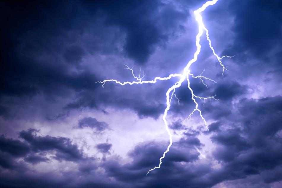 Blitzeinschläge sind in der Monsunzeit keineswegs ungewöhnlich.