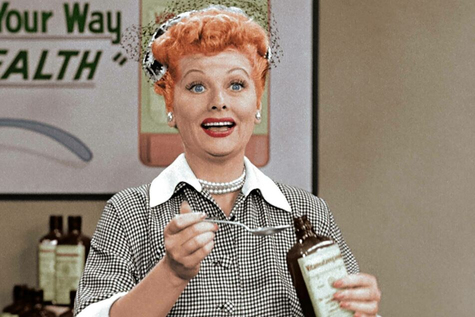 Lucille Ball was known as a comedic genius and the first woman to run a major television studio (archive image).