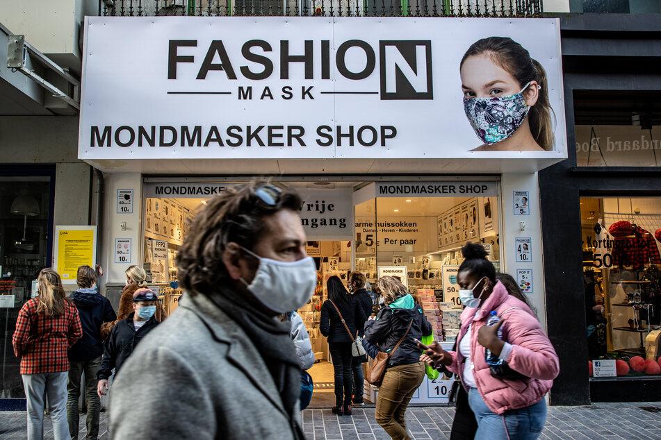 Trotz hoher Corona-Inzidenz: In Belgien darf der Einzelhandel ab nächster Woche wieder öffnen.