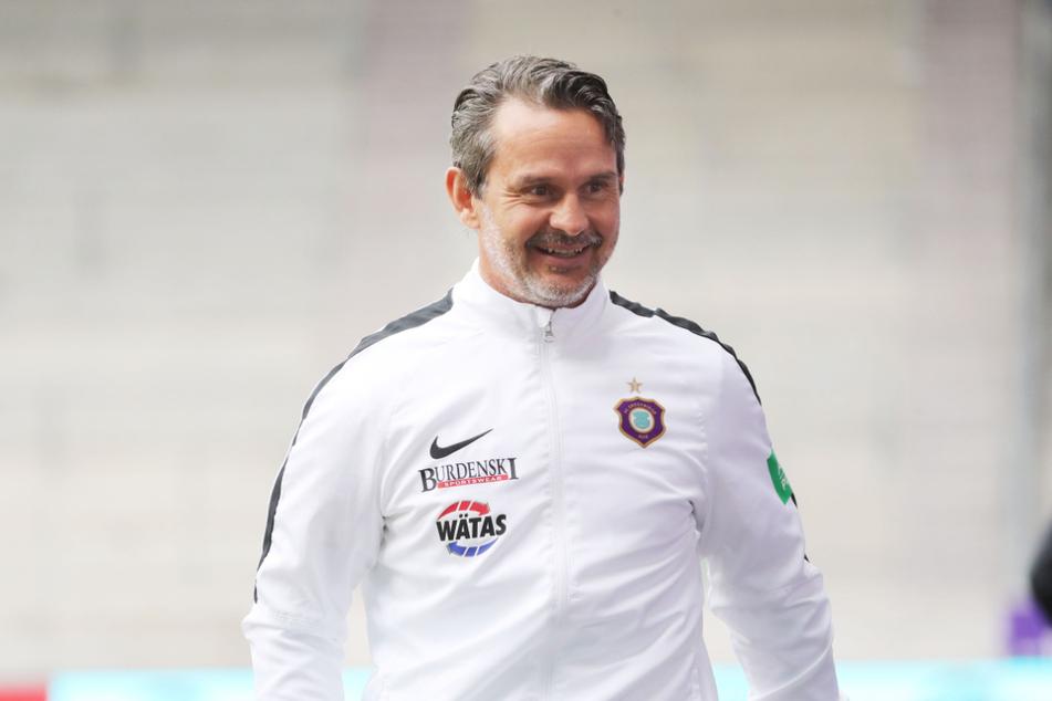 Den Klassenerhalt hat Dirk Schuster (53) mit dem FCE schon gesichert - wird es noch besser?