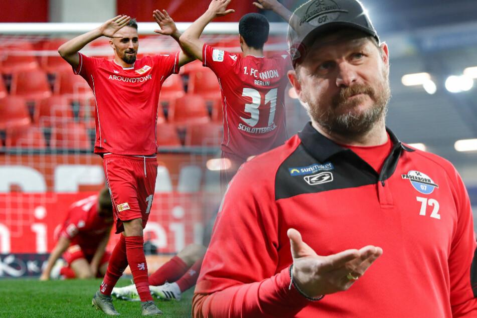 Ausgerechnet gegen Union könnte der Abstieg von Steffen Baumgart mit dem SC Paderborn feststehen.