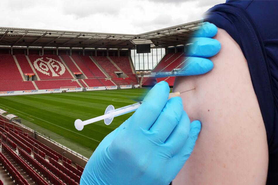 Am Freitag und Samstag können sich Impfwillige am Stadion des FSV Mainz 05 impfen lassen.