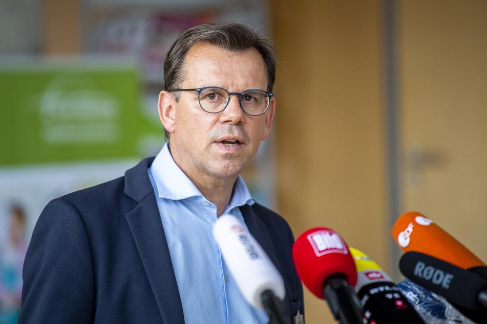 Thomas Kuhlbusch, der Leiter des Krisenstabs im Kreis Gütersloh.