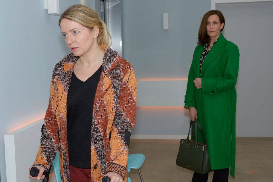 Wird sich Tobias für eine Fortsetzung seiner Ehe mit Melanie (l.) entscheiden oder wählt er eine gemeinsame Zukunft mit seiner neuen Liebe Katrin?