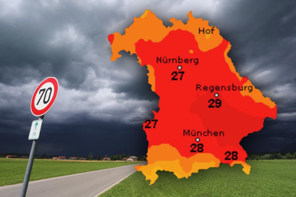 Es kann in Bayern knallen! So wird das Wetter in den nächsten Tagen
