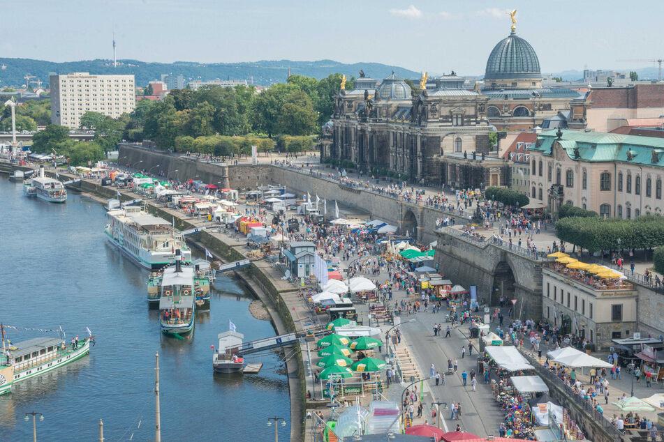 Das Stadtfest Dresden 2016.