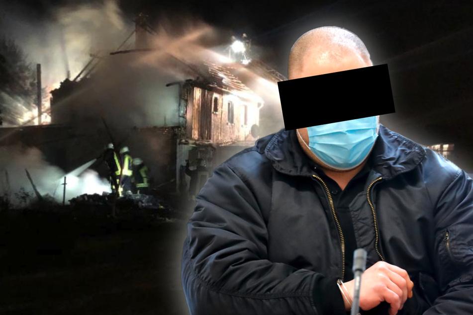 Urteil gefallen: So lange muss dieser eifersüchtige Brandstifter in den Knast