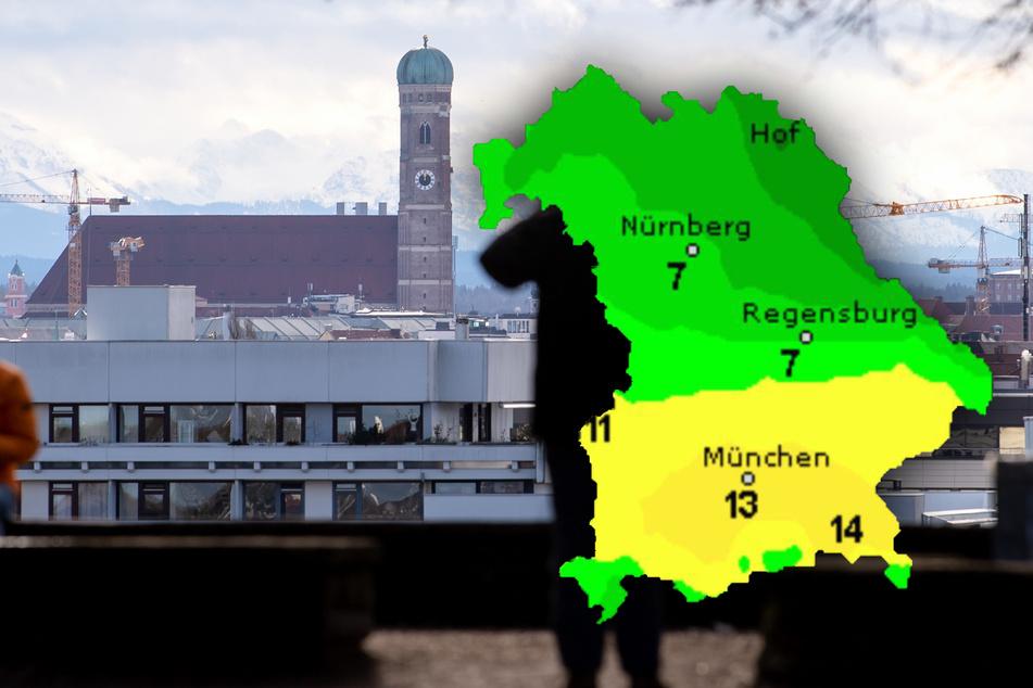 So wird das Wetter in Bayern: Der Freistatt ist zweigeteilt!