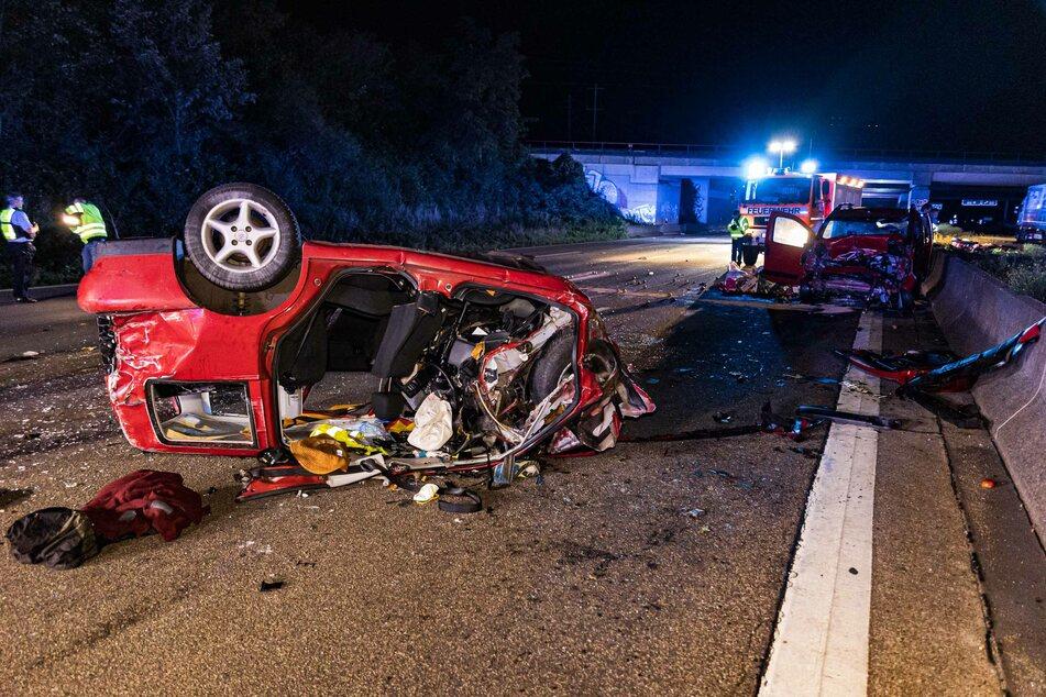 Tödlicher Unfall auf A4: Zwei Menschen verstorben