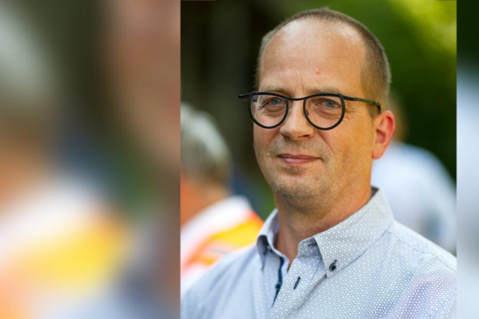 """Johannes Rödel (53) von der Bürgerinitiative """"Viadukt e. V."""" ist froh, dass es endlich Planungssicherheit gibt."""