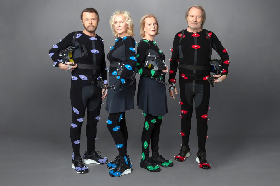 """Björn Ulvaeus (76, l.-r.), Agnetha Fältskog (71), Benny Andersson (74) und Anni-Frid Lyngstad (75) sind die Mitglieder der schwedischen Popgruppe Abba. Ihr neues Album wird den Titel """"Voyage"""" tragen."""