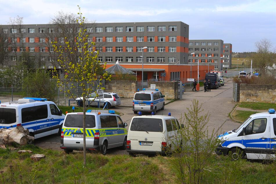 In der Zentralen Anlaufstelle für Asylsuchende (ZASt) in Halberstadt hat es am Sonntag einen Polizeieinsatz gegeben. (Archivbild)