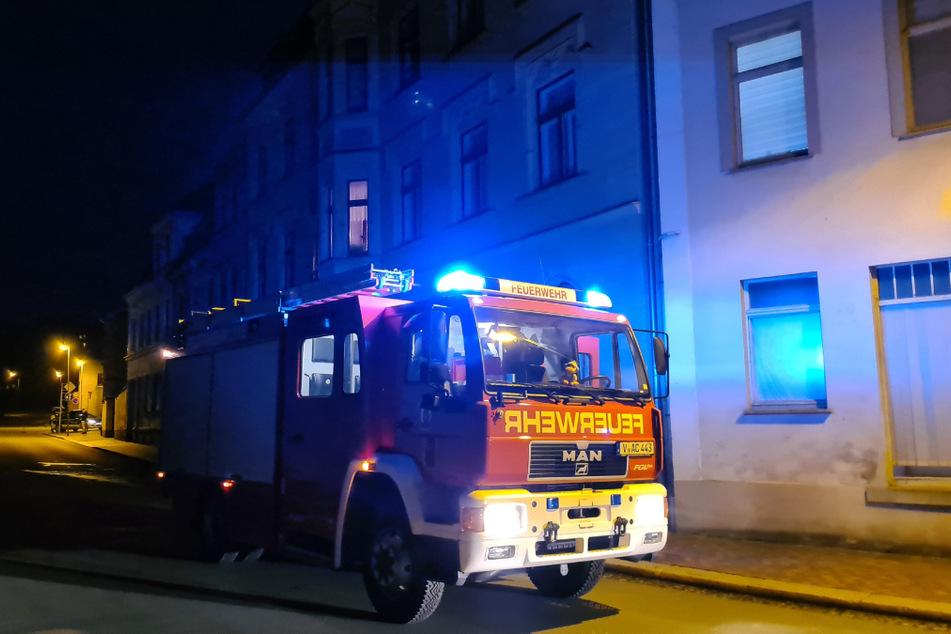 Kurz vor 20 Uhr wurde die Feuerwehr am Montagabend zu einem Küchenbrand in Mylau gerufen.