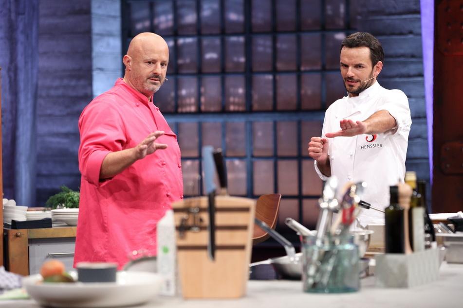 Detlef Steves (51) vertritt Steffen Henssler (48) in der Küche