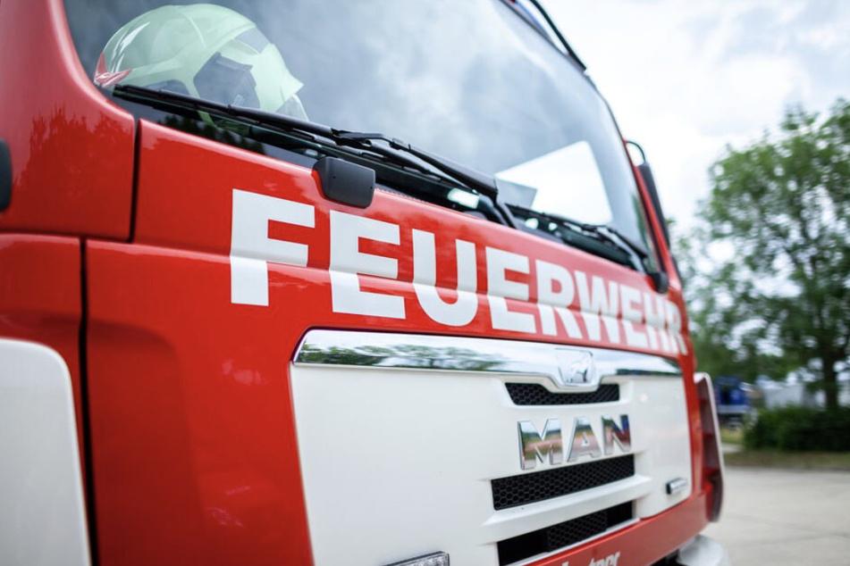 Die Feuerwehr wurde am Samstagnachmittag zu einem Brand in Leipzig-Grünau alarmiert. (Symbolbild)
