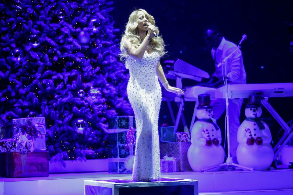 Mariah Carey's Magical Christmas Special is coming to Apple TV+ on December 4 (archive image).