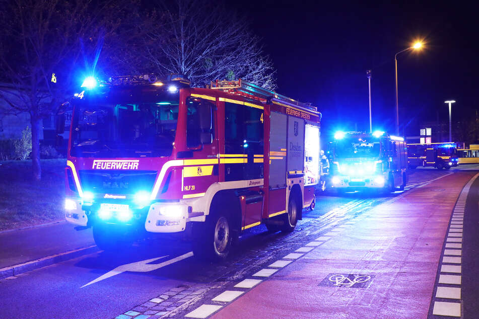 Die Feuerwehr hatte alle Hände voll zu tun in der Nacht zum Dienstag.
